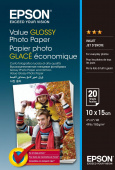 Фотобумага Epson Value Glossy Photo Paper 10x15 см 20 листов