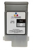 Картридж INK-DONOR Canon INK-107BK чёрный (Black) 130 мл