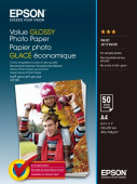 Фотобумага Epson Value Glossy Photo Paper A4, 50 листов